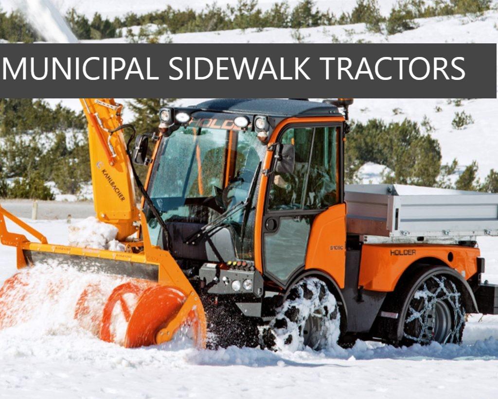 Municipal Tractors